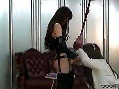 Japanese Femdom Emiru BONDAGE & DISCIPLINE Belt Dick Fucking