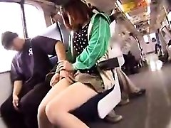 Cute girl with steamy legs puts her oral skills into actio