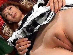 Horny Amateur vid with Asian, Solo scenes