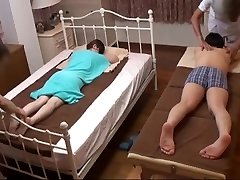 Husband Watches Japanese Wife Get a Super-naughty Massage - 2
