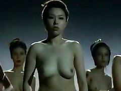 Naked China dolls  fighting