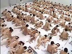 Huge Gang-bang Orgy