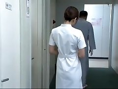 Finest Japanese model Aya Kiriya, Mirei Yokoyama, Emiri Momoka in Exotic Nurse JAV video