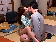 Greatest Japanese whore Akiho Yoshizawa in Kinky kitchen, couple JAV scene
