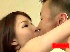 Maisaki Mikuni kiss and plow session