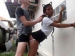White Man Fucks His Chinese Maid