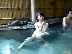Japanese babe is a hot chick getting felt part1