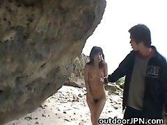 steamy Japanese babes doing weird fuckfest