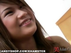 Huge-chested Asian Bunny Unloaded With Spunk