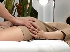 Asian Hardcore Anal massage and penetration