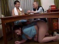 Unbelievable Japanese super-bitch in Fabulous Blowjob, Fetish JAV clip