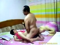 Unexperienced Mature Asian couple