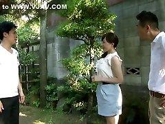 Exotic Japanese chick in Incredible Wife, Milf JAV video