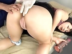 Asian anal toy and knuckle