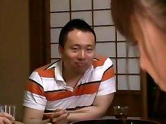 Incrível modelo Japonês de Junko Hayama de Tesão Tocando, Magro JAV cena