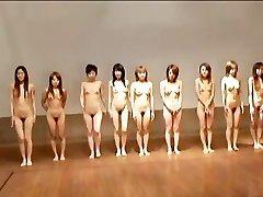avmost.com - Nahé Japonské dievča dostane búšila pevného po loptové hry