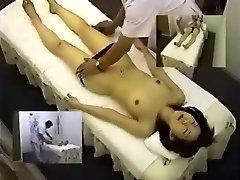 Skryté Cam Ázijské Masáže Masturbovať Mladý Japonský Teen Pacienta