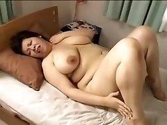 O japão grande mulher bonita Mamma