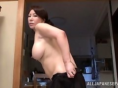 Wako Anto hot mature Asian babe in stance 69