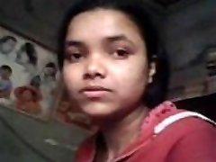Índio real, irmã buceta fingured &_ Peitos pressionado pelo próprio irmão, enquanto estiver estudando
