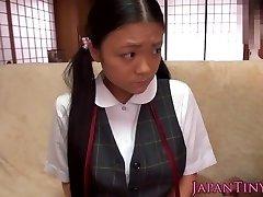 Tímido gozadas asiático adolescentes mamas obter gozada