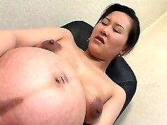 asiática preggo 01