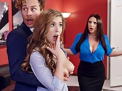 Angela Milky & Lena Paul & Michael Vegas in Porno Logic - Brazzers