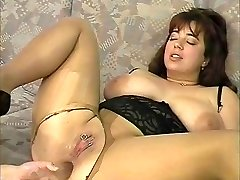 Nice pierced and chubby milf