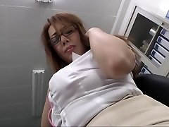 Insatiable Japanese slut in Best Huge Tits, Office JAV video