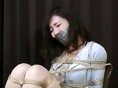 Chinese dame in Hottest BDSM JAV scene unique
