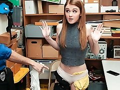 ShopLyfter - Shoplifting Teen Gets Punished