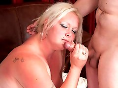 Super cute young British fattie visited by repairman who bones her holes