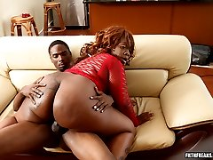 This thick black chick has more than just a big ass, shes got