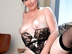 MILF Brook has perfect titties, an unstoppable ass and a sex drive that goes on for miles! Watch her play with her pussy because this one is a sexual monster!