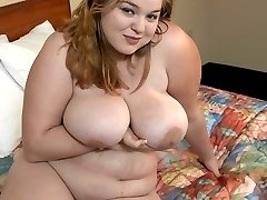 Lana is an overstuffed plumper with blonde hair. The chubby cutie likes to play it rough and tough.