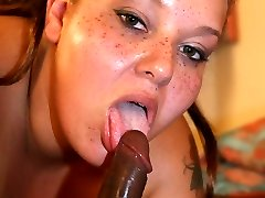 Chuny hottie Elizabeth crawls into the bedroom and gets her massive pussy crammed with our meat pole