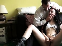 Sexy girlfriend extreme gang smash