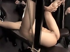 Incredible Japanese mega-bitch in Fabulous BDSM, Fetish JAV flick