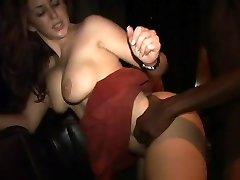 Isabella Soprano nailing a black stud at party 3
