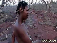 wild african safari bang-out orgy