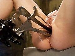 Extraordinaire latex, ebony porn clip with beautiful pornstars Kylie Ireland and Isis Enjoy from Everythingbutt