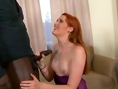 Redhead Ruby Wise taking Big Black Cock in her bum in front of hotwife