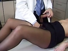 Wonderful Patient in Black Pantyhose Gets Fucked