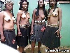 Real African Teenage GFs!