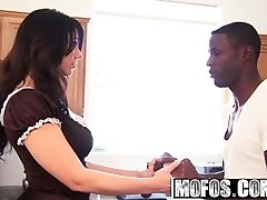 Mofos - Milfs Like It Black - Humungous Ass Maid starring  Madison