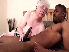 Caroline Grandma Black Cock