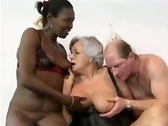 Grandmother and friends