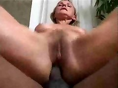 Older wife wants dark-hued cock