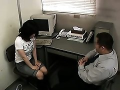 Stealing Schoolgirl blackmailed into Fuck-a-thon