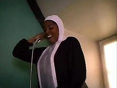 African French nun sucking and penetrating xxl black cocks